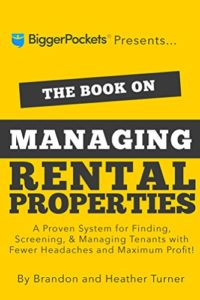 Book on managing rental properties