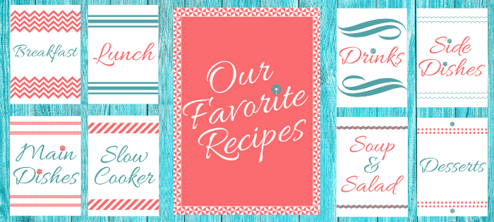 Free Recipe Binder Book