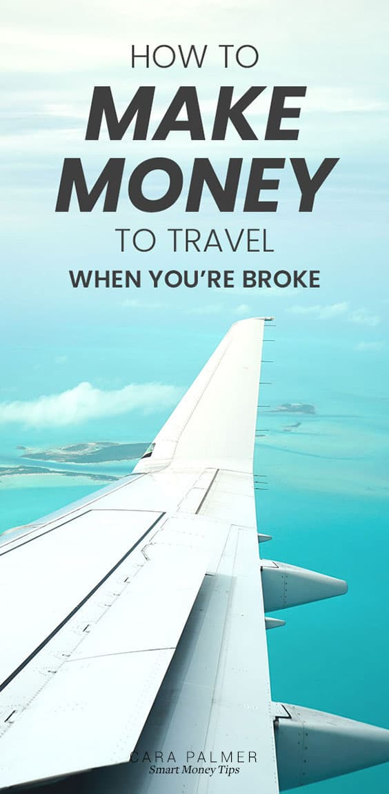 Earn extra money to travel