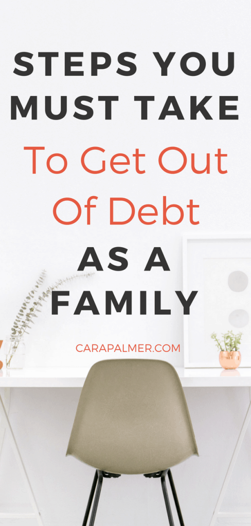How To Get Out Of Debt As A Family