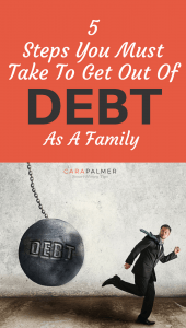 5 Steps You Must Take To Bet Debt Free