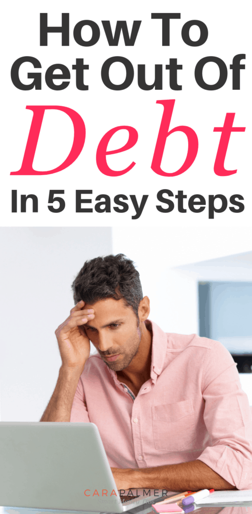 How To Get Out Of Debt As A Family In 5 Easy Steps.