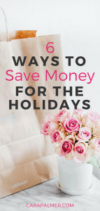 6 Ways To Save Money On A Tight Budget For The Holiday