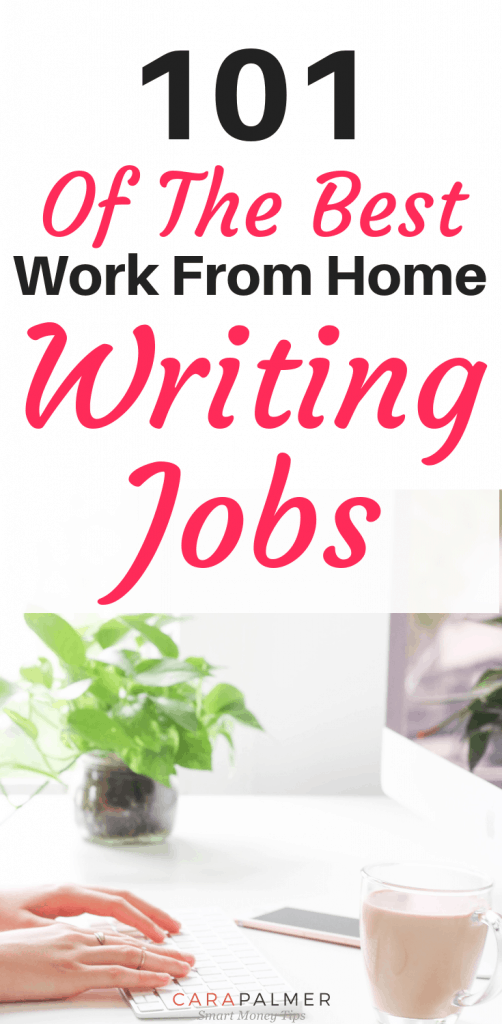 101 Of The Best Writing Jobs