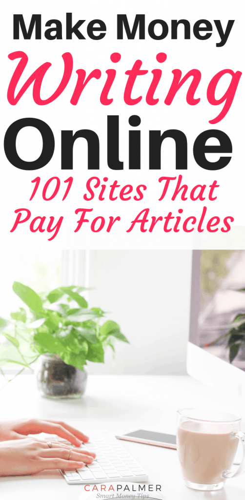Get Paid To Write: 101 Sites That Pay For Articles