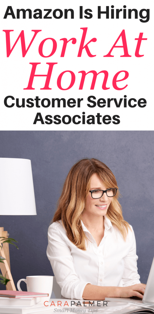 Amazon Is Hiring Work At Home Customer Service Associates. Work From Home Jobs.