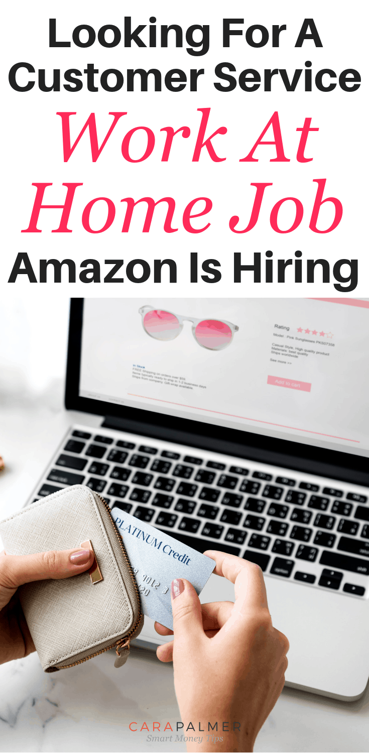 Looking For A Customer Service Work At Home Job? Amazon Is Hiring