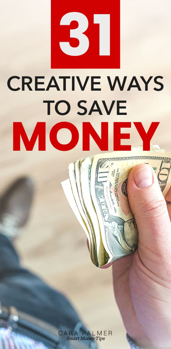 So many creative ways you can save money