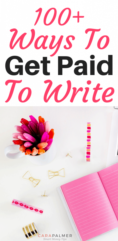 101 Sites That Pay You To Write