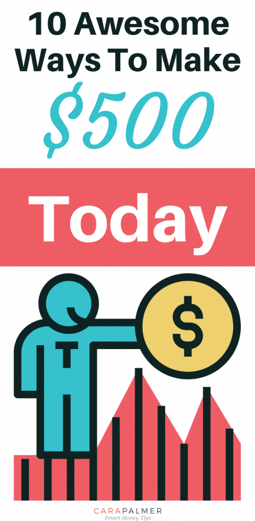10 Awesome Ways To Make $500 Today