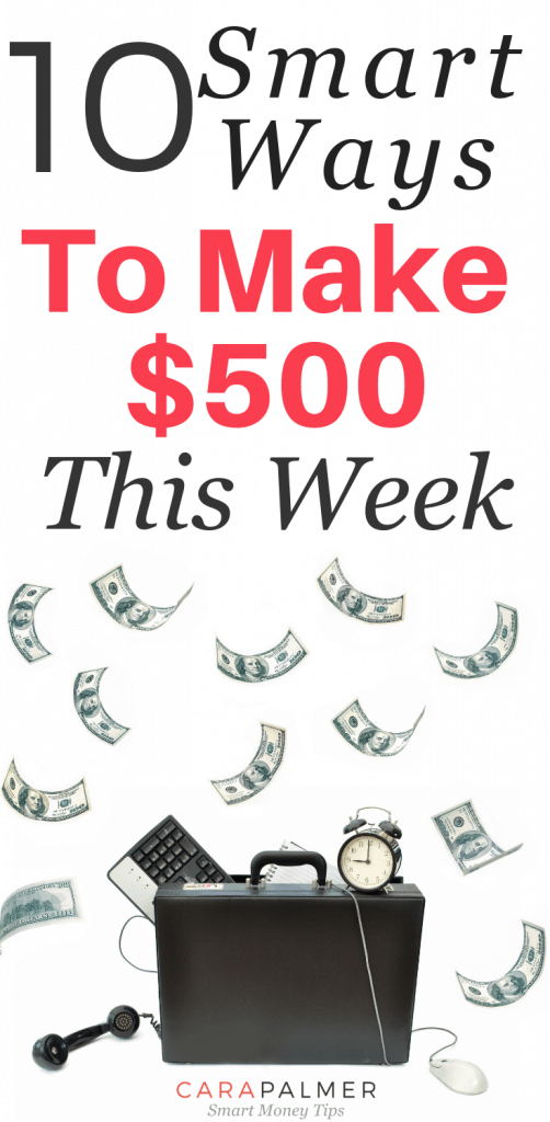 How To Make $500 A Day: 10 Smart Ways.