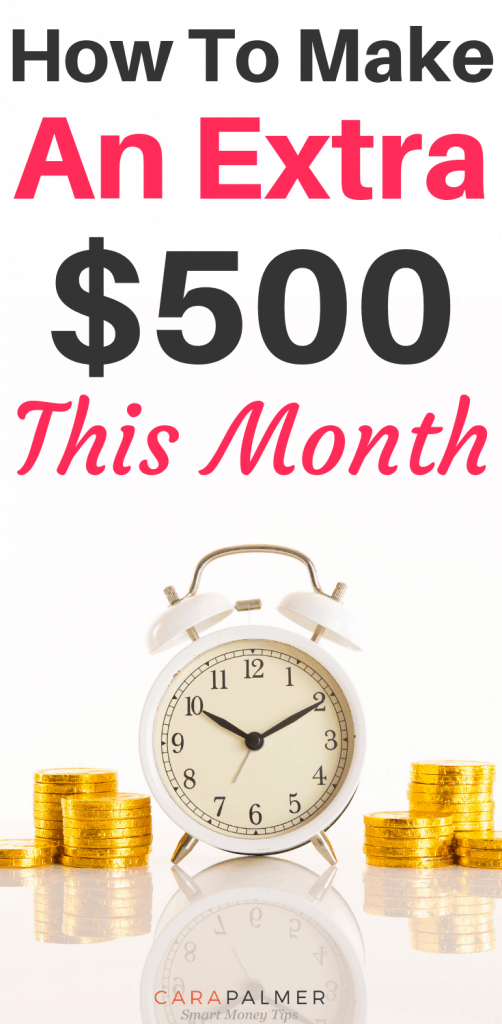 How To Make An Extra $500 This Month