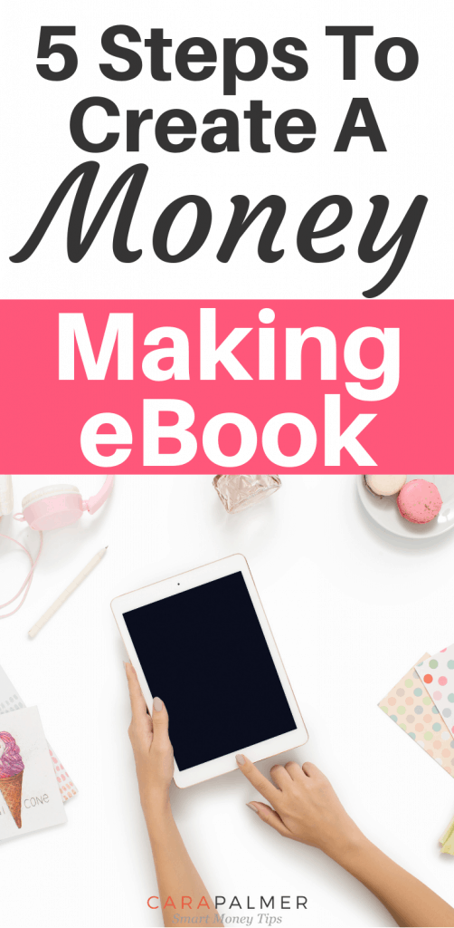 5 Steps To Create A Money Making eBook
