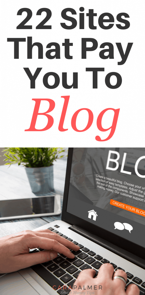 22 Sites That Pay You To Blog.