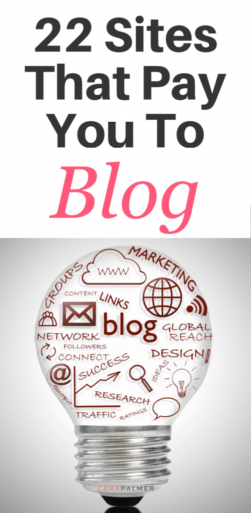 22 Sites That Pay You To Blog