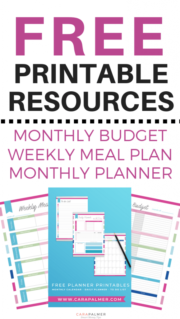 Free Monthly Planner Printables