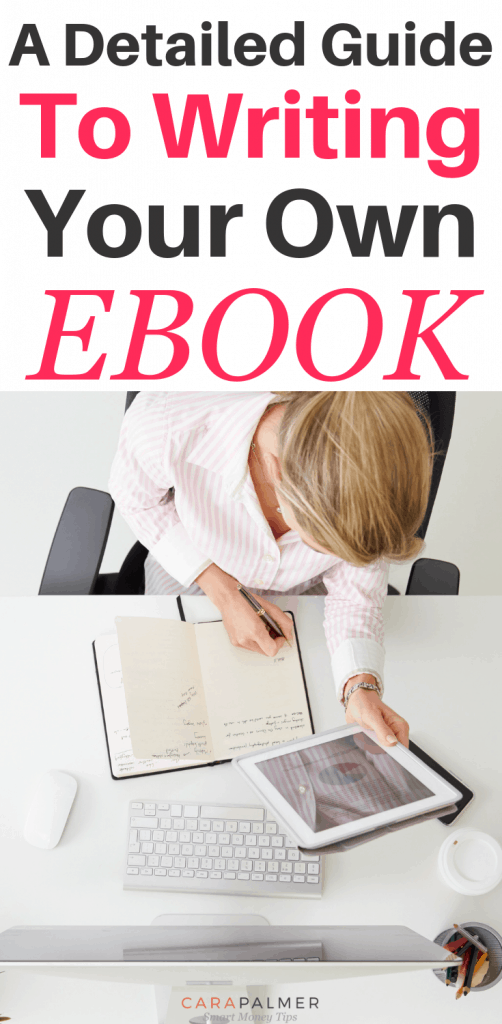 A Detailed Guide To Writing Your Own eBook