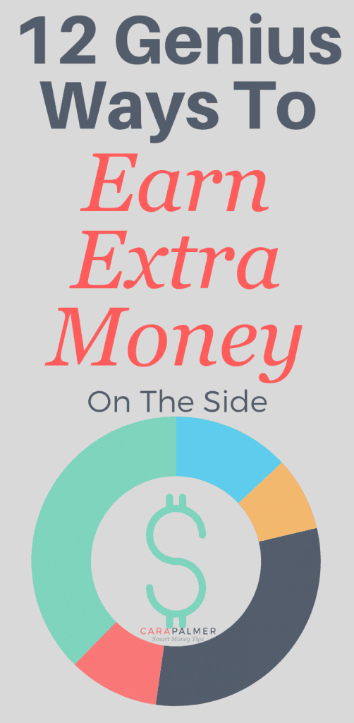 12 Genius Ways To Earn Extra Money On The Side. Side Hustles. Personal Finance. Making Money Ideas.
