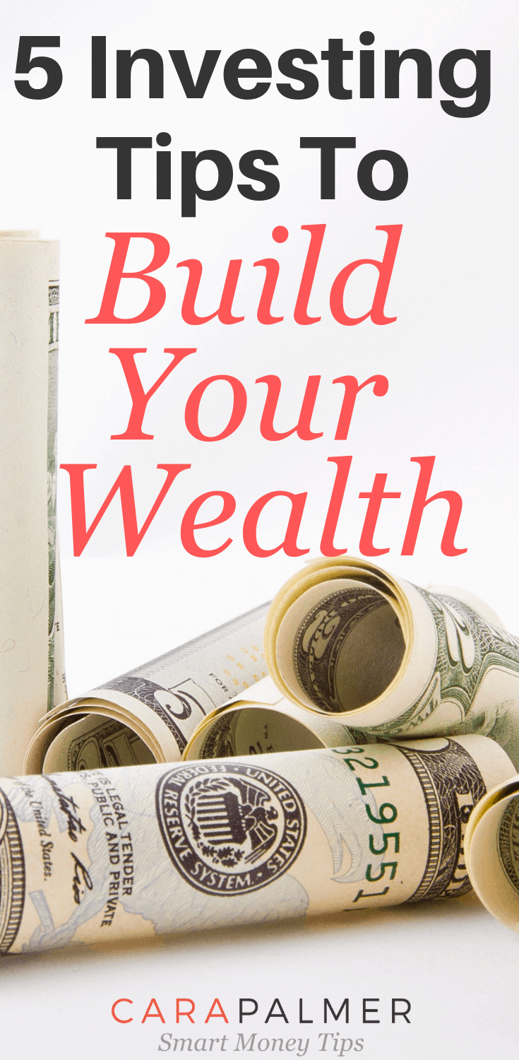 5 Investing Rules To Build Your Wealth. Investing Money. Personal Finance.