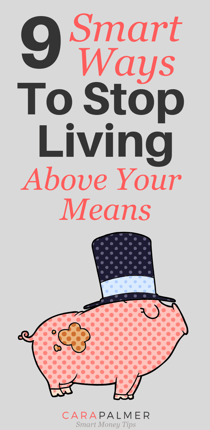 9 Signs You're Living Above Your Means. Personal Finance. Money Problem.