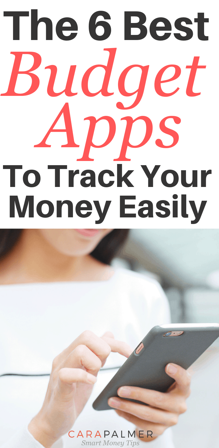 The 6 Best Budget Apps To Track Your Money Easily. Budget Apps. Best Budget App. Personal Finance.