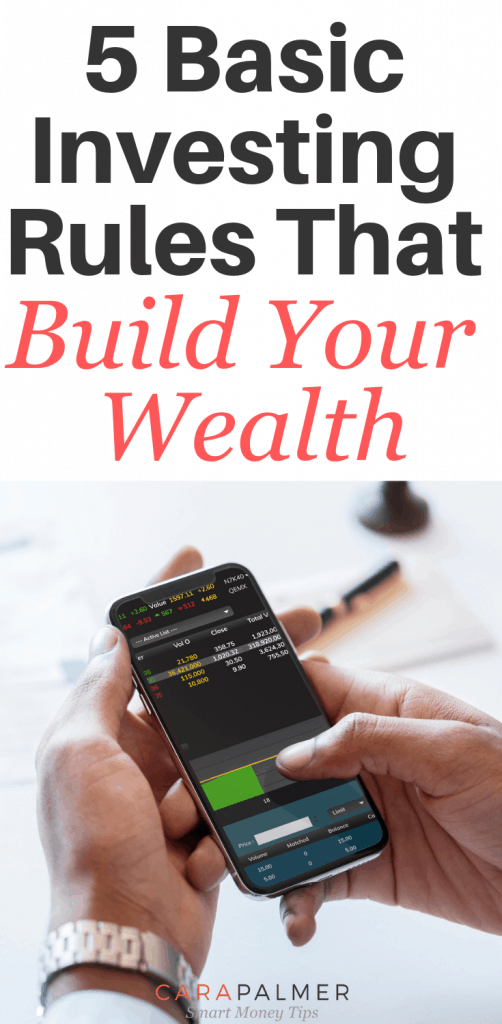 5 Basic Investing Rules That Will Build Your Wealth. Investing Money. Personal Finance. Invest now, and earn a monthly cash flow! #invest #investing #money #income investing best investments ideas budgeting tips saving money how to invest money money investment ideas how to invest investing tips how to invest your money investment ideas