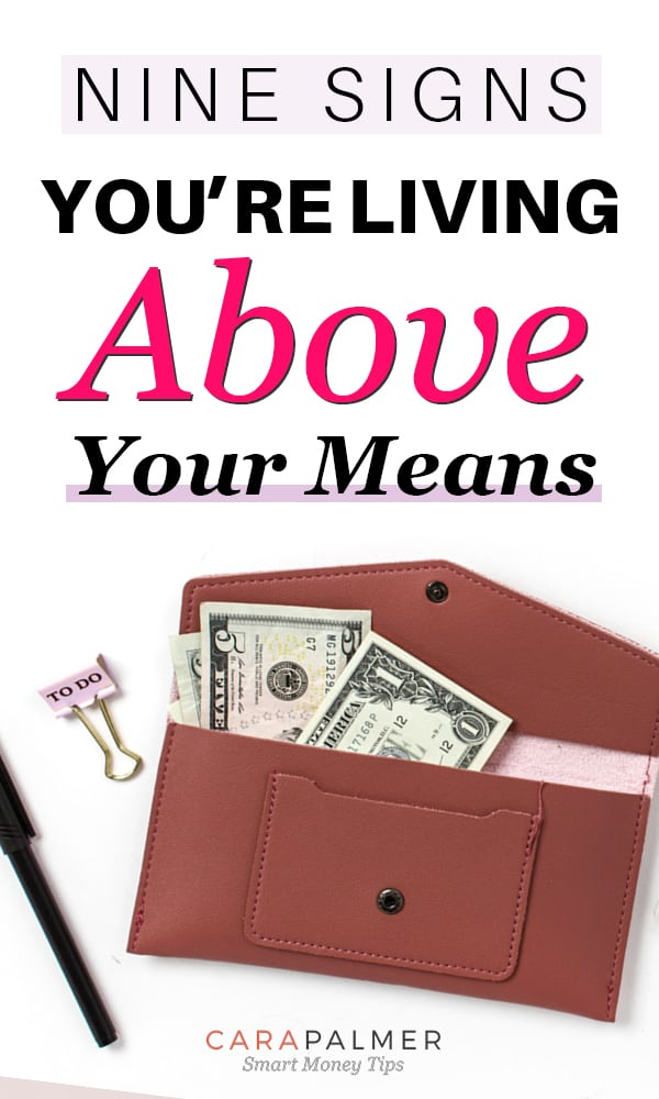 Signs You're Living Beyond Your Means