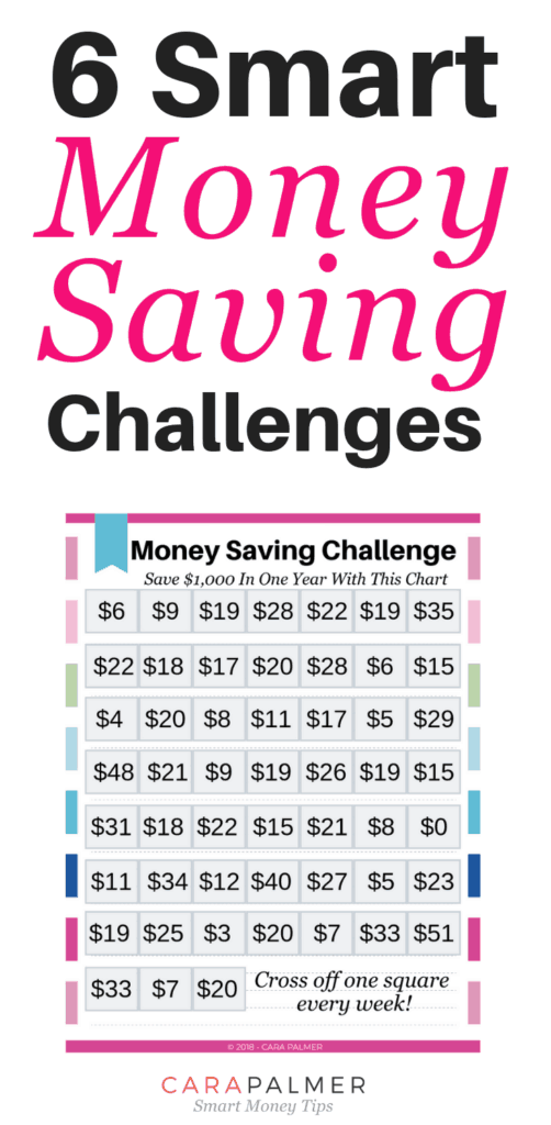 6 Smart Money Saving Challenges