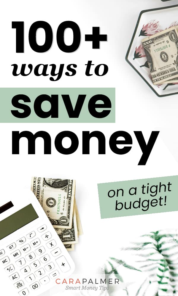 Easy Ways You Can Save Money