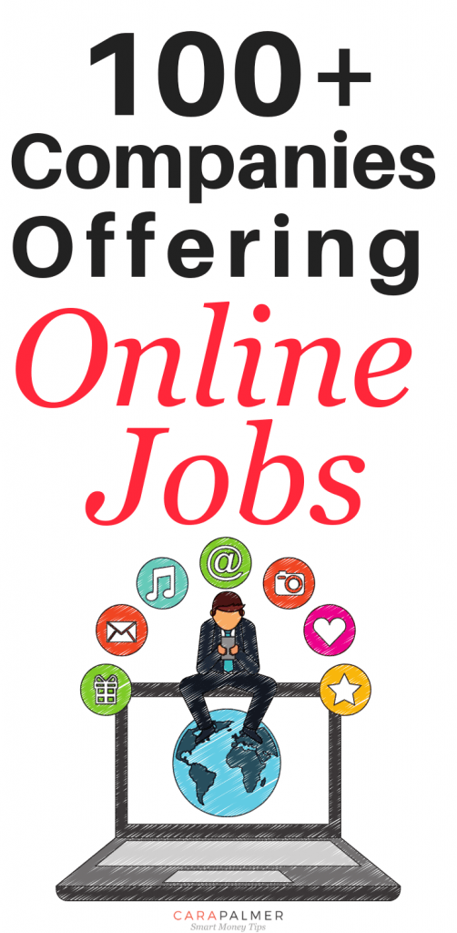 100+ Companies Offering Online Jobs. Online Jobs For Home Without Investment.