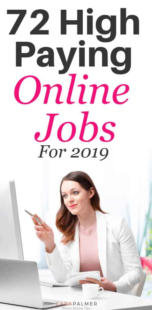 72 High Paying Online Jobs From Home Without An Investment In 2019