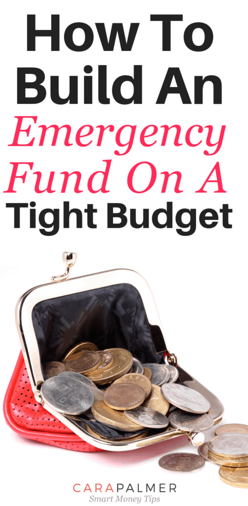How To Start An Emergency Fund With A No Spend Challenge