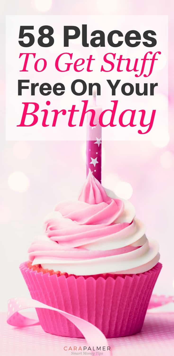 Get Free Birthday Stuff On Your Special Day