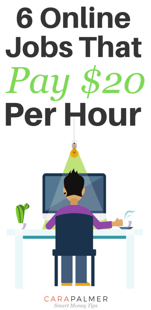 6 Legitimate Work From Home Jobs That Pay $20 Per Hour. Online Work From Home. High Paying Online Jobs.