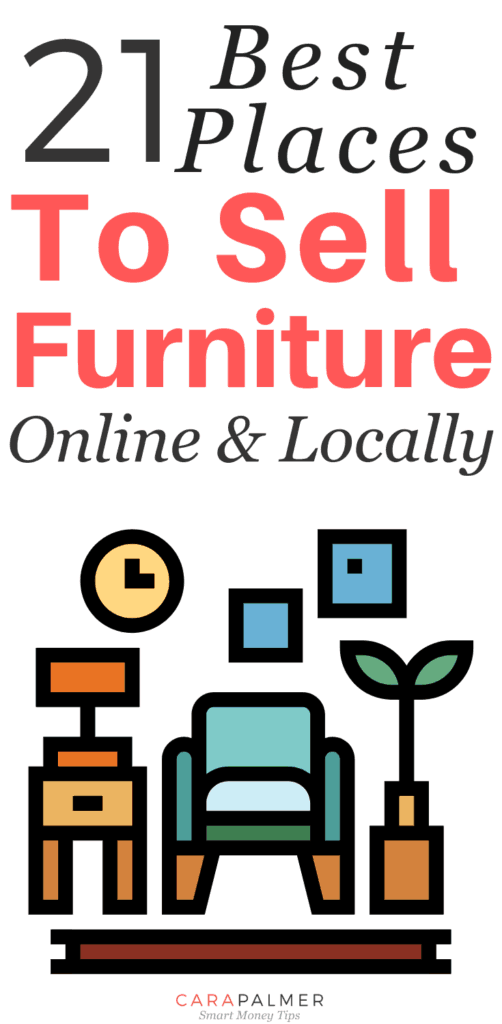 e5a628513 ... on Pinterest to learn more ways to help you manage your money so you  can start saving today! 21 Best Places To Sell Used Furniture - Online And  Locally.
