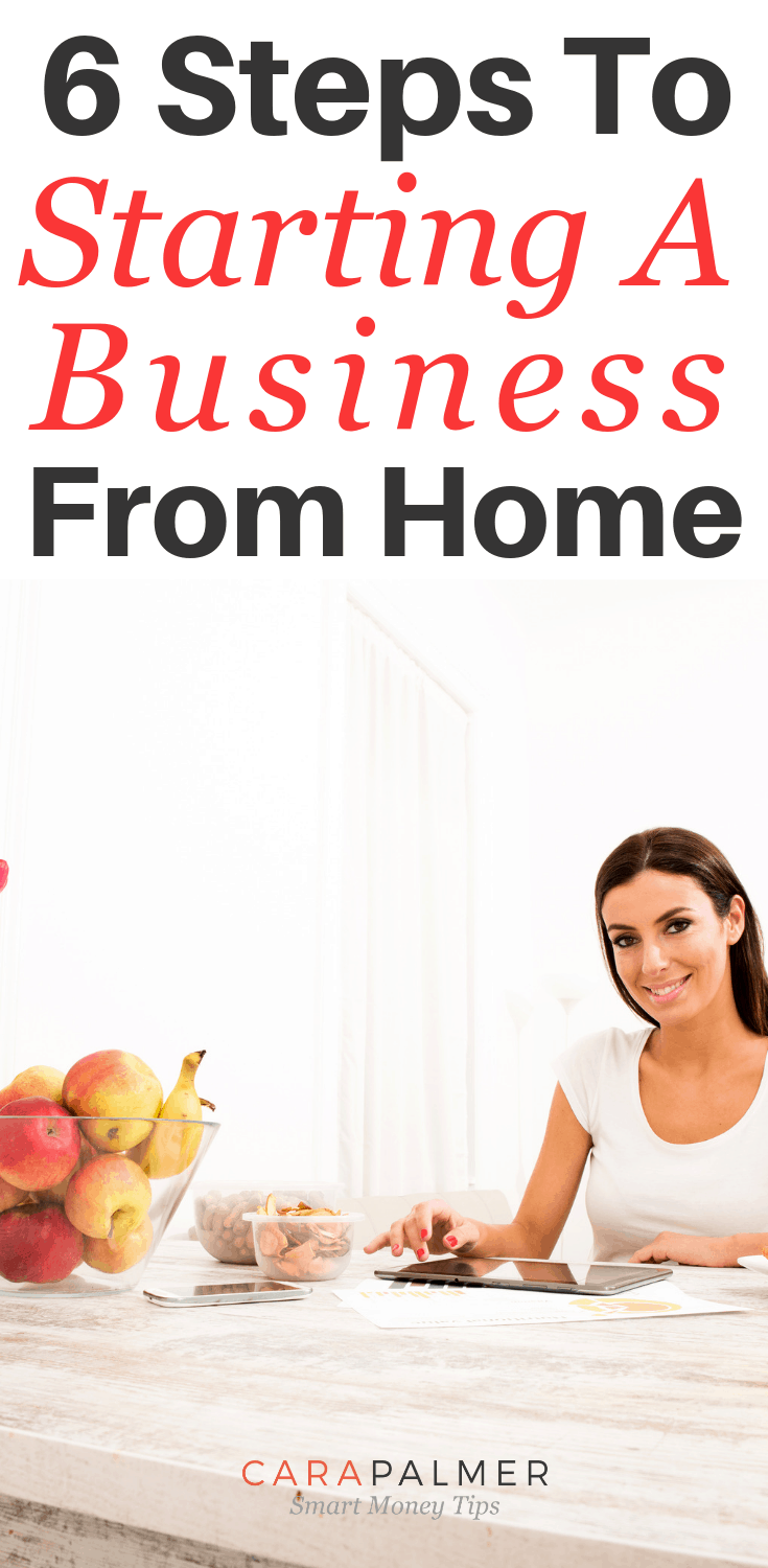 6 Steps To Starting A Business From Home.