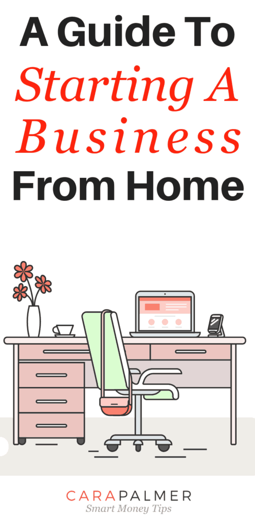 A Guide To Starting A Business From Home.