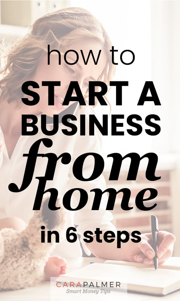 Learn how to start a business from home
