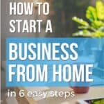 start a home business easily
