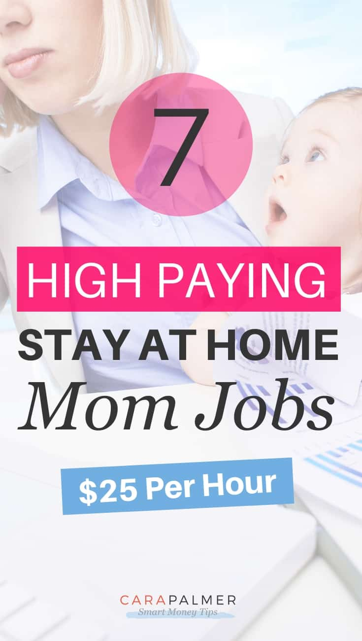 High Paying Stay At Home Mom Jobs