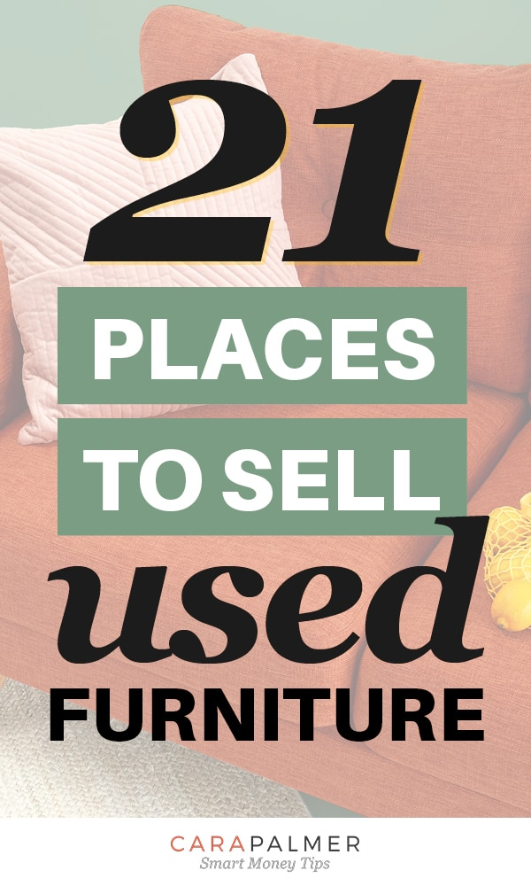 Find Places To Sell Your Used Furniture