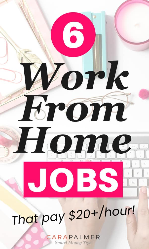 High Paying Work From Home Jobs