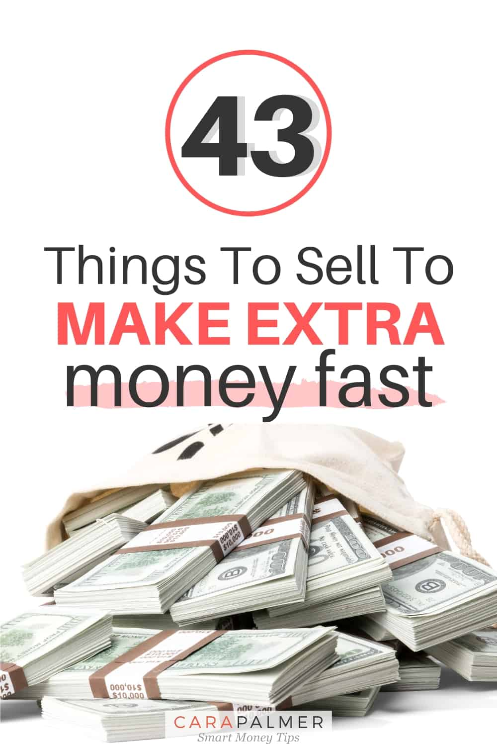 Over 40 things you can sell to make extra money