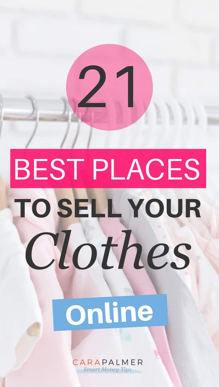 The best online places where you can sell your clothes