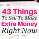 Make extra money selling your stuff