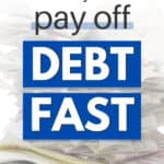 how to get rid of debt fast with 8 tips