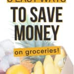 learn how to save on groceries