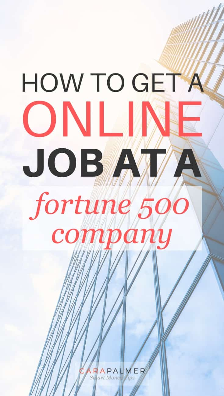 Work From Home Opportunities At Fortune 500 Companies