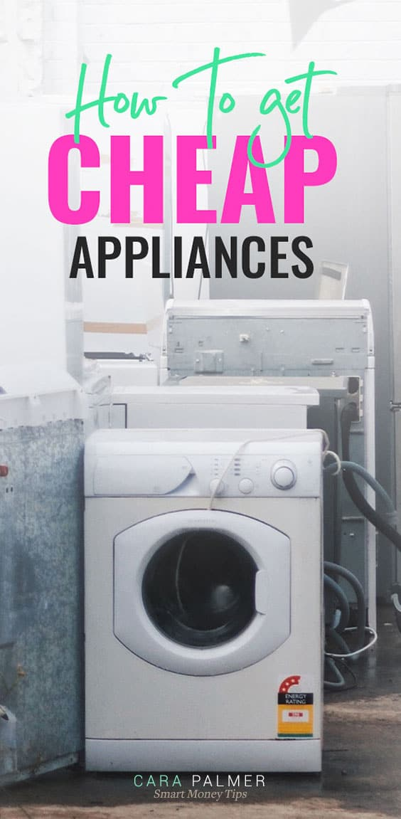 Get Free Or Cheap Appliances