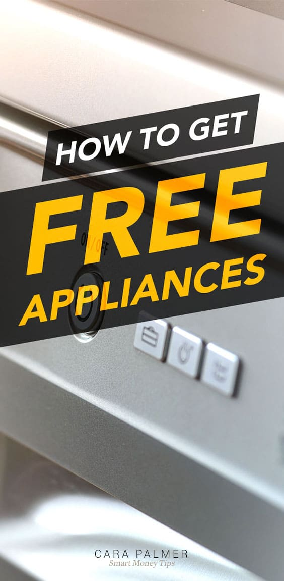 Cheap And Free Appliances For You